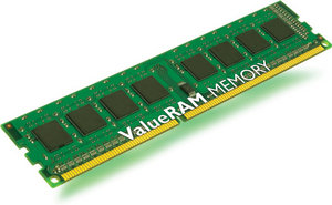 Kingston ValueRAM 8GB 1333MHz DDR3 Non-ECC CL9 Memory