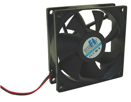 Manhattan 120mm Case/Power Supply Fan 3 Pin, (120x120x25 mm)