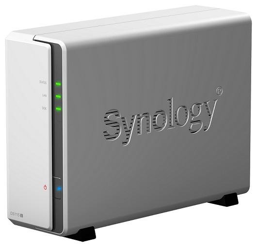 Synology DS115j Single Bay Diskless NAS