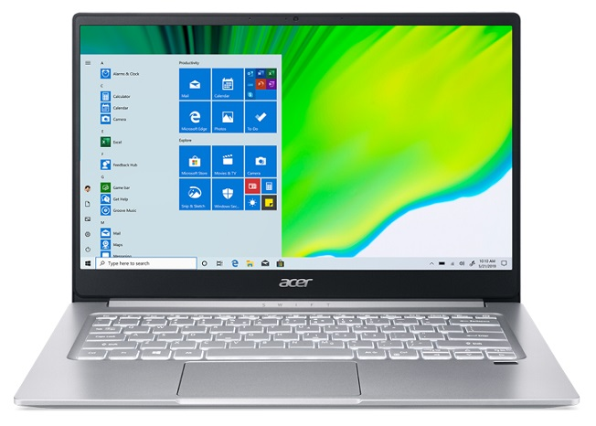 Acer Swift 3 SF314-42 14 Inch Ryzen 7 4700U 4.10GHz 16GB RAM 1TB SSD Laptop with Windows 10 Home + Go in the draw to WIN $1,000 Elive Voucher