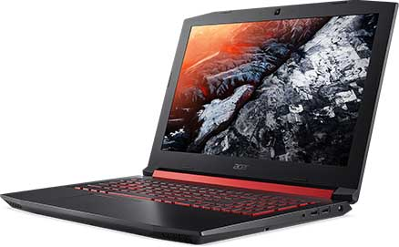 Acer Nitro 5 15.6 Inch AMD Ryzen 7 4800H 4.2GHz 8GB RAM 256GB SSD GTX1650Ti Gaming Laptop with Windows 10 Home + Go in the draw to WIN $1,000 Elive Voucher