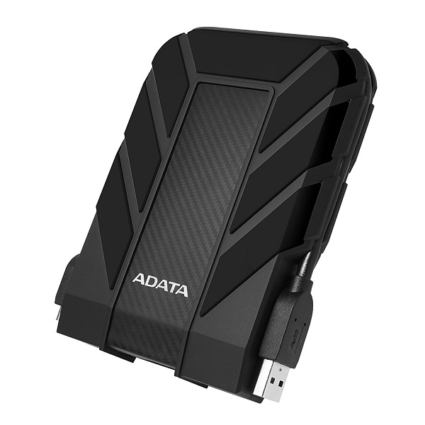 ADATA HD710P Durable 1TB USB 3.1 External Hard Drive - Black