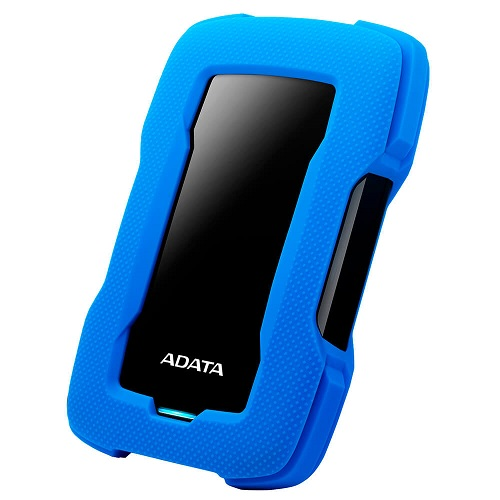 ADATA HD330 1TB Rugged Portable Hard Drive - Blue