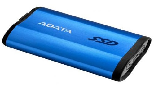 ADATA SE800 512GB USB 3.2 Gen 2 Portable External Solid State Drive - Blue