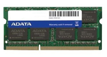 ADATA 8GB DDR3 1600Mhz PC3-12800 1.35v Low Voltage SODIMM CL11 Memory
