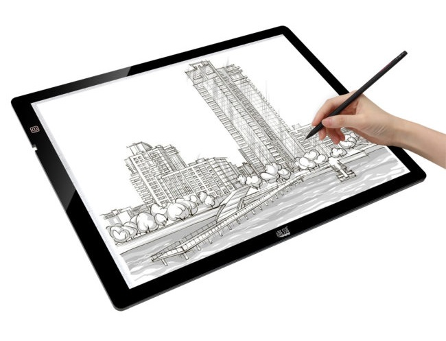 Adesso CyberPad P2 12 x 17 Inch LED Light Tracing Pad