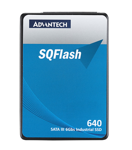 Advantech SQFlash 640s 256GB SATA3 2.5 Inch Industrial Solid State Drive