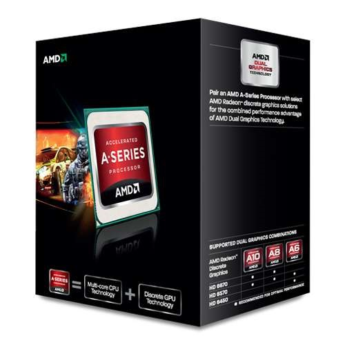 AMD A8-5600K Quad-core 3.60 GHz FM2 Socket  Processor