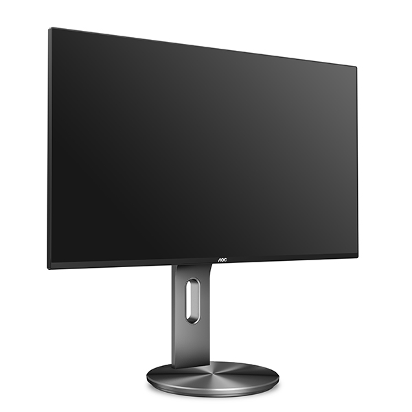 AOC I2490PXQU 23.8 Inch 1920 x 1080 IPS 4ms Monitor with Speakers & USB Hub - DisplayPort HDMI VGA