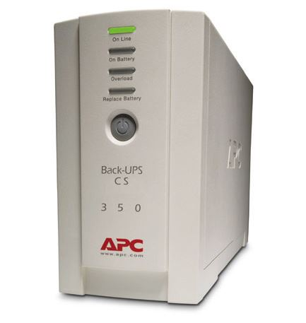 APC Back-UPS CS 350VA/210W 4 x Outlets Standby Tower UPS