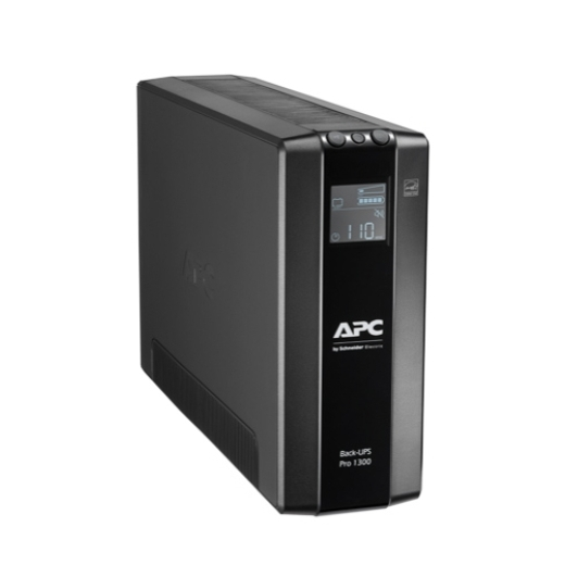 APC Back UPS Pro BR 1300VA 780W 8 Outlet Line Interactive Tower UPS