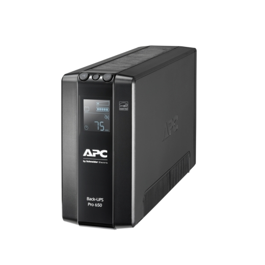 APC Back UPS Pro BR 650VA 390W 6 Outlet Line Interactive Tower UPS