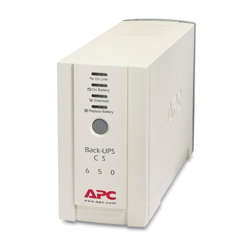 APC Back-UPS CS 650VA/400W 4 x Outlets Standby Tower UPS