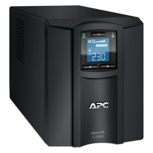APC Smart-UPS C 2000VA 1300W 6 Outlet Line Interactive Tower UPS