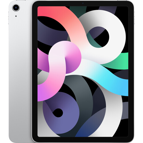 Apple iPad Air (4th Gen, 2020) 10.9 Inch A14 Bionic Chip 64GB Storage Wi-Fi & Cellular Tablet with iPadOS 14 - Silver