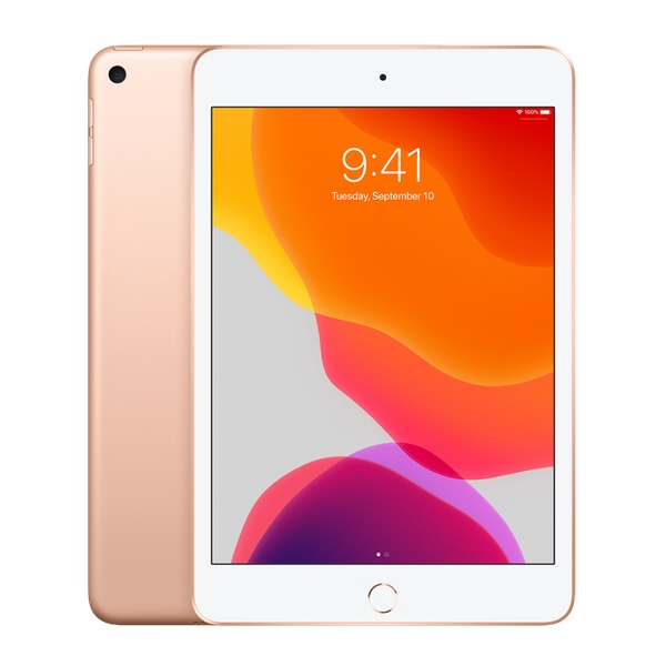 Apple iPad Mini (5th Gen, 2019) 7.9 Inch A12 Bionic Chip 64GB Storage WiFi & Cellular Tablet with iPadOS - Gold