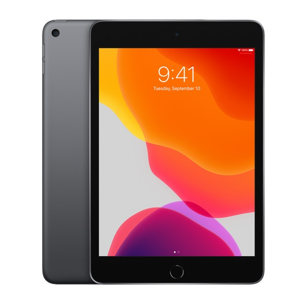 Apple iPad Mini (5th Gen, 2019) 7.9 Inch A12 Bionic Chip 64GB Storage WiFi Tablet with iPadOS - Space Grey