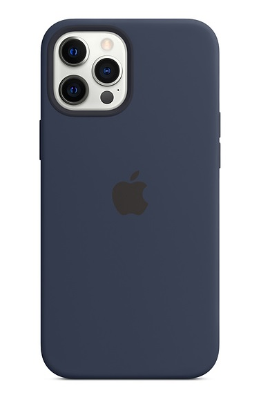Apple Silicone MagSafe Case for iPhone 12 Pro Max - Deep Navy