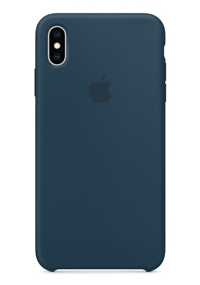 Apple iPhone Silicone Case for iPhone XS Max - Pacific Green