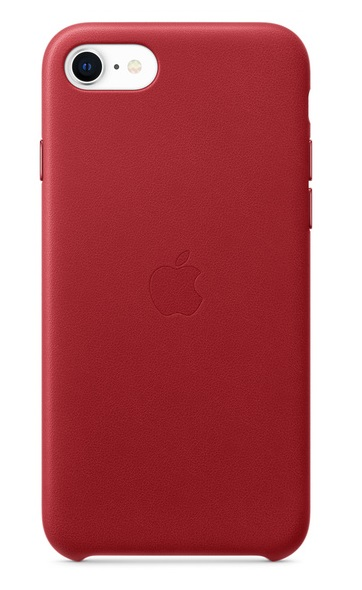 Apple Leather Case for iPhone SE, 7 and 8 - Red