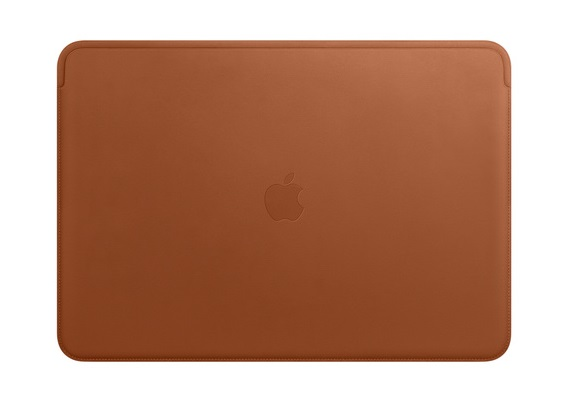 Apple Leather Sleeve for 15 Inch MacBook Pro - Saddle Brown