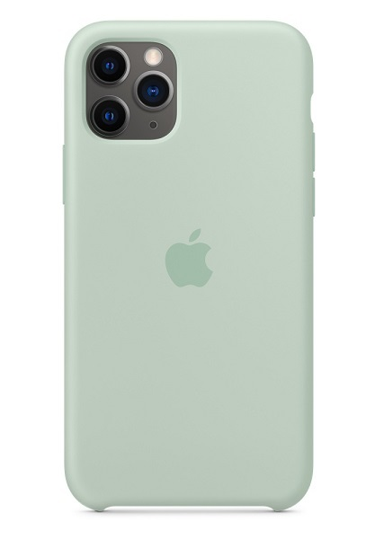 Apple Silicone Case for iPhone 11 Pro Max - Beryl