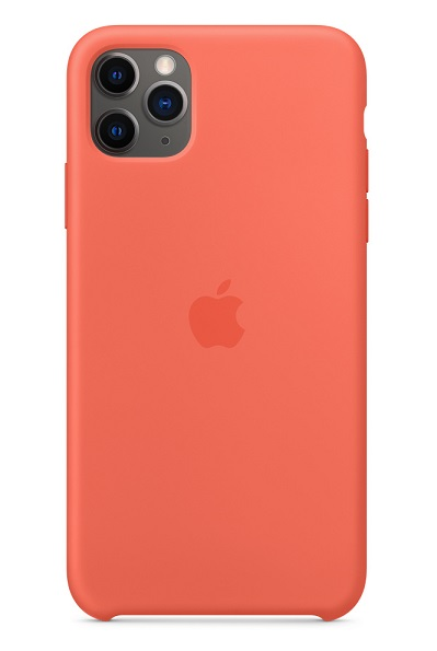 Apple Silicone Case for iPhone 11 Pro Max - Clementine