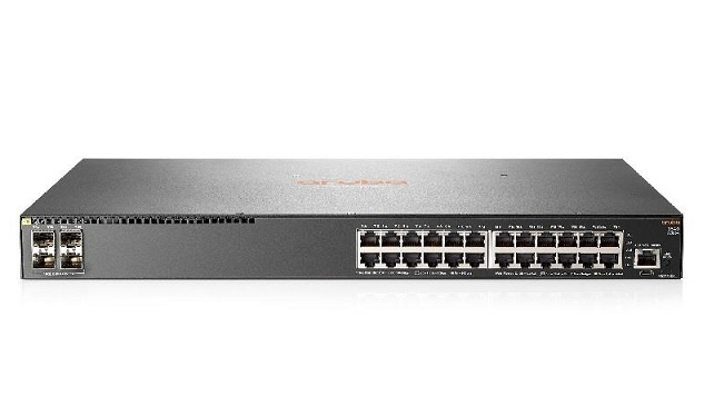 Aruba 2540 24G 4SFP+ 24 Port Gigabit Managed Switch + 2 x SFP+