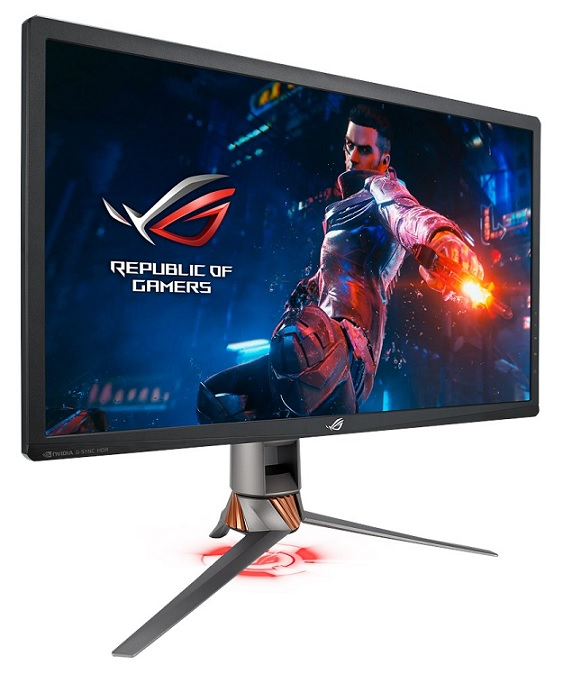 Asus ROG Swift PG27UQ 27 Inch 3840 x 2160 4ms 600nit IPS Gaming Monitor with USB Hub & Speakers - HDMI DisplayPort