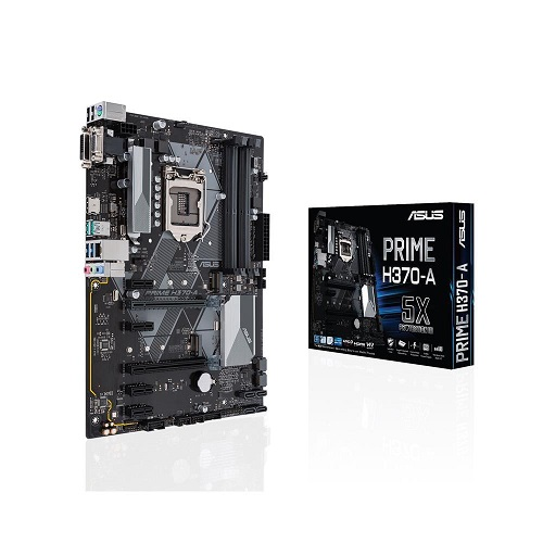 Asus Prime H370-A Intel Coffeelake ATX Motherboard | Elive NZ