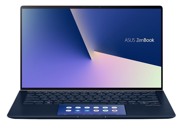 Asus ZenBook 14 UX434FLC 14 Inch i5-10210U 4.2GHz 16GB RAM 512GB SSD MX250 Touchscreen Laptop with Windows 10 Pro