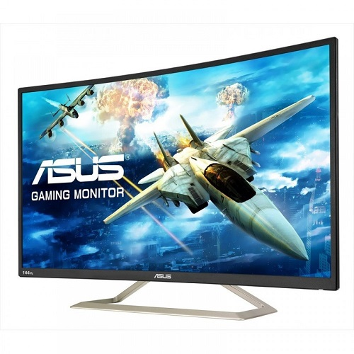 Asus VA326H 31.5 Inch 1920 x 1080 4ms Curved Monitor with Speakers - HDMI DVI
