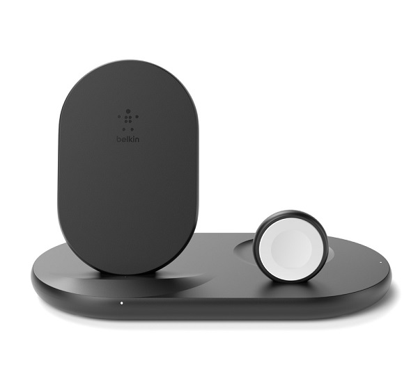 Belkin BoostUP Charge 3-in-1 Wireless Charging Pad for Apple Devices - Black