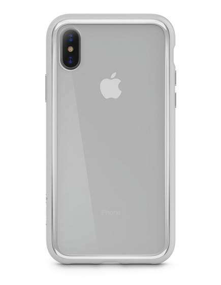 Belkin SheerForce Elite Protective Case for iPhone X - Silver