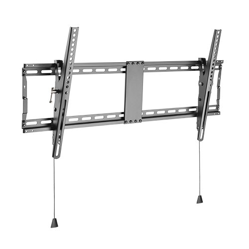 Brateck Anti-theft Wall Mount Bracket for 43-90 Inch Curved & Flat Panel TVs or Monitors - Up to 70kg