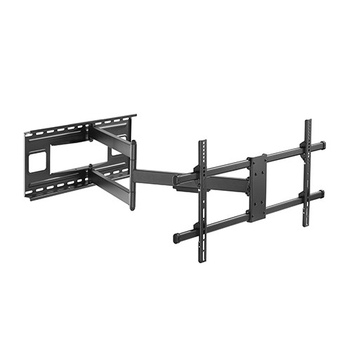 Brateck Extra Long Arm Full-Motion Wall Mount Bracket for 43-80 Curved or Flat Panel Inch TVs or Monitors - Up to 50kg