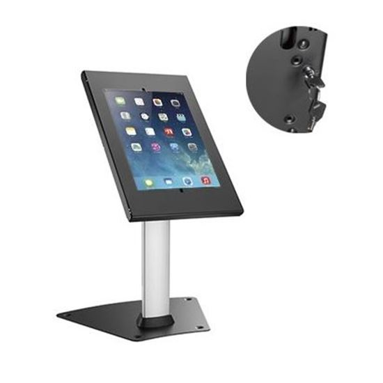Brateck Heavy Duty Anti-Theft Countertop Tablet Kiosk Stand for 9.7-10.5 Inch Tablets