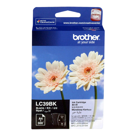 Brother LC39BK Black Ink Cartridge