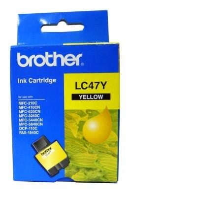 Brother LC47Y Yellow Ink Cartridge