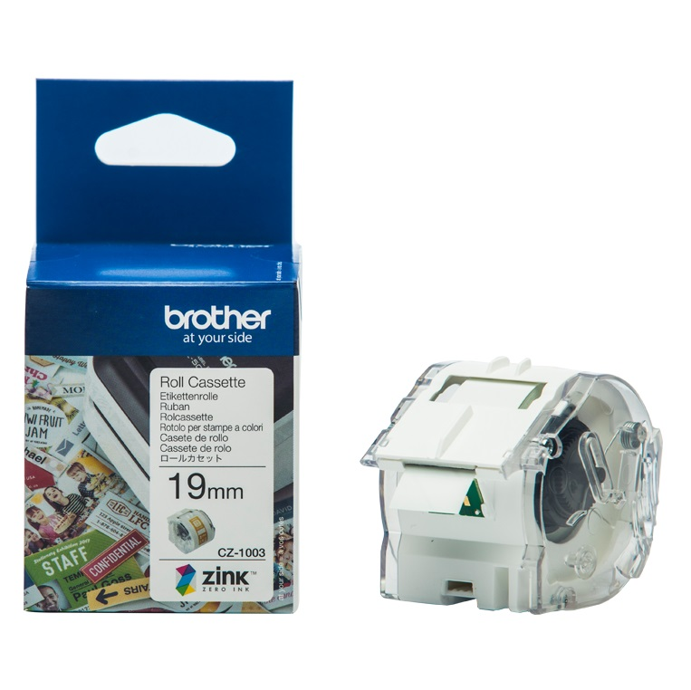 Brother CZ-1003 19mm x 5m Full Colour Continuous Label Roll
