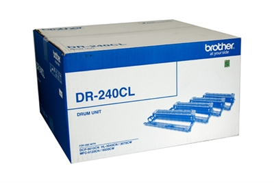 Brother DR240CLCMY Single Colour Drum Unit (Cyan, Magenta & Yellow)