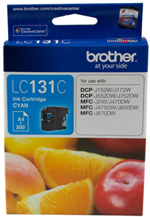Brother LC131C Cyan Ink Cartridge