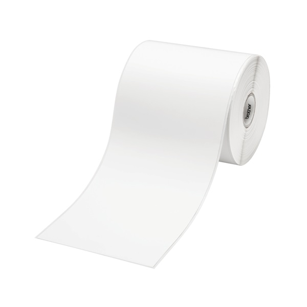 Brother RD-S01C2 102mm x 44.4m Self-Adhesive Multipurpose Continuous Label Roll