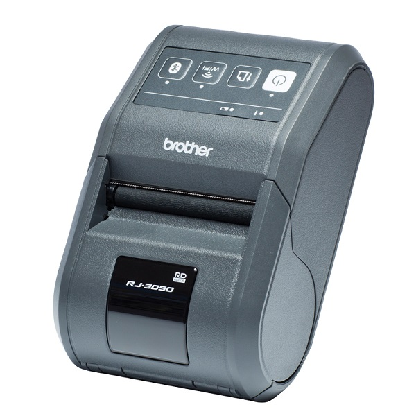 Brother Rugged Jet RJ3050 Direct Thermal Bluetooth Wireless Mobile Label Printer