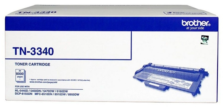 Brother TN3340 Black High Yield Toner Cartridge