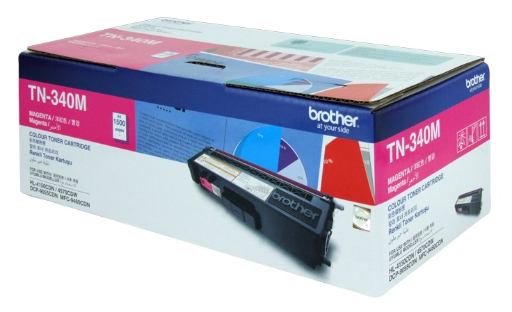 Brother TN340M Magenta Toner Cartridge