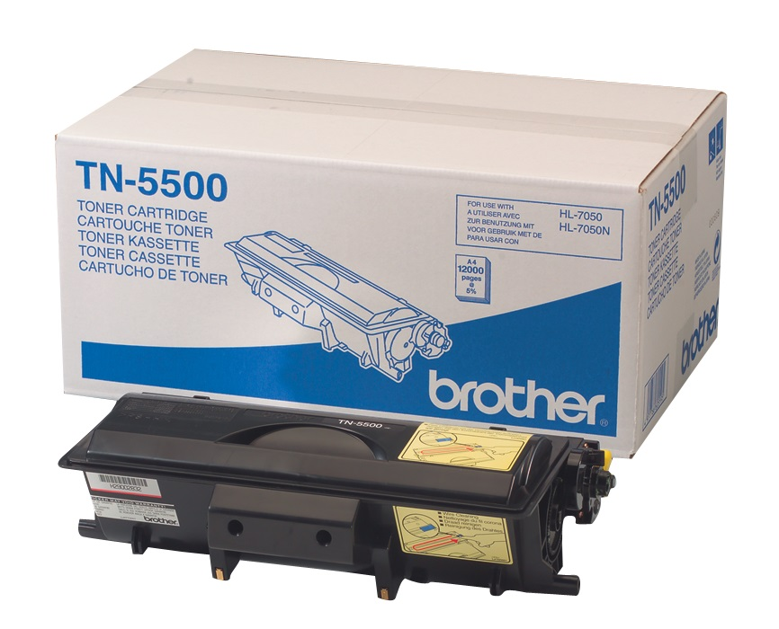 Brother TN5500 Black High Yield Toner Cartridge