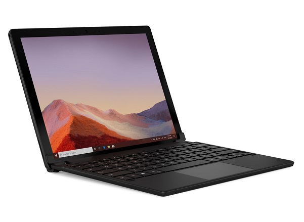 Brydge 10.5 Go Plus Wireless Keyboard with Touchpad for Surface Go - Black