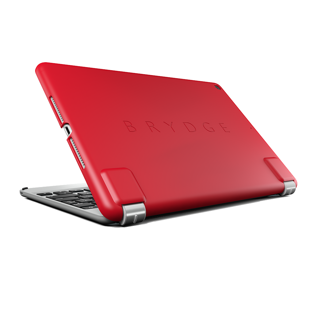 Brydge Slimline Protective Case for iPad 9.7 Inch (5th & 6th Gen) - Red