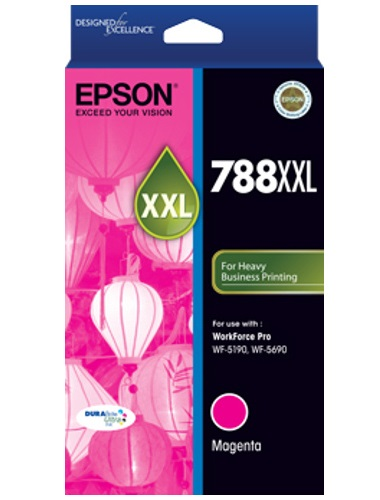 Epson 788XXL High Capacity Magenta Ink Cartridge